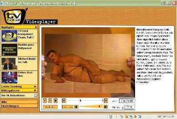 CLICK HERE TO SEE VIDEO WITH BLOODHOUND GANG ON GERMAN TELEVISION SHOW. EVIL JARED GETS NAKED!